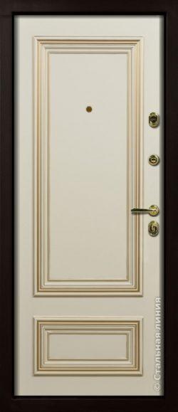 Дверь Поло (Polo) 100.01.04 внутренняя сторона