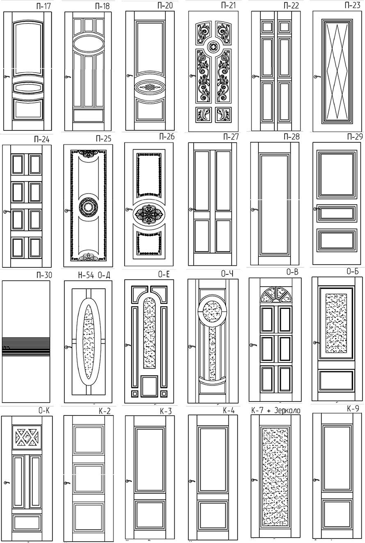 Двери для квартиры по индивидуальному заказу 8