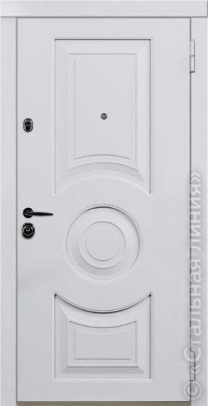 Дверь Неаполь (NEAPOL) 80.01.02 наружная сторона