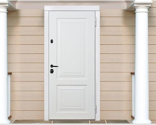 Дверь Паола (PAOLA) 80.01.02 наружная сторона в интерьере