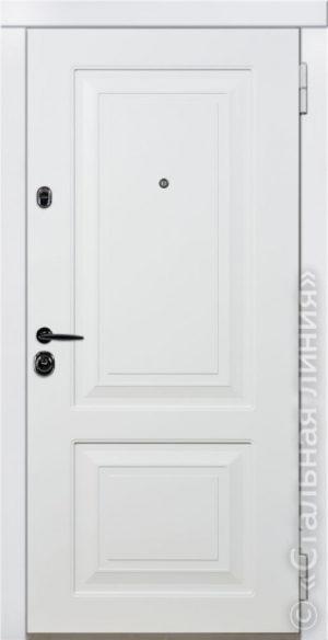 Дверь Паола (PAOLA) 80.01.02 наружная сторона