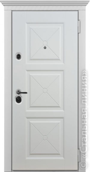Дверь Тулон (TOULON) 100.04.04 наружная сторона