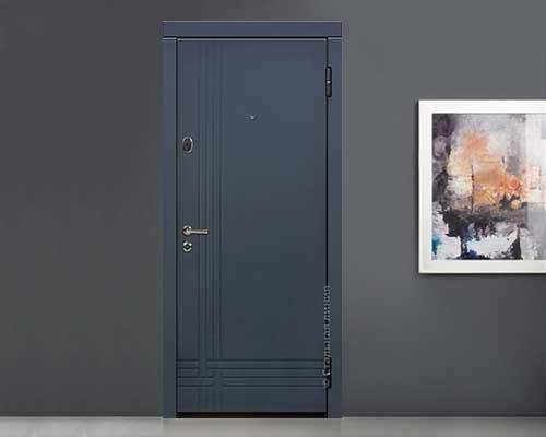 Дверь Next-Light-70.02.01 наружная сторона в интерьере